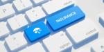 insurance button on a keyboard